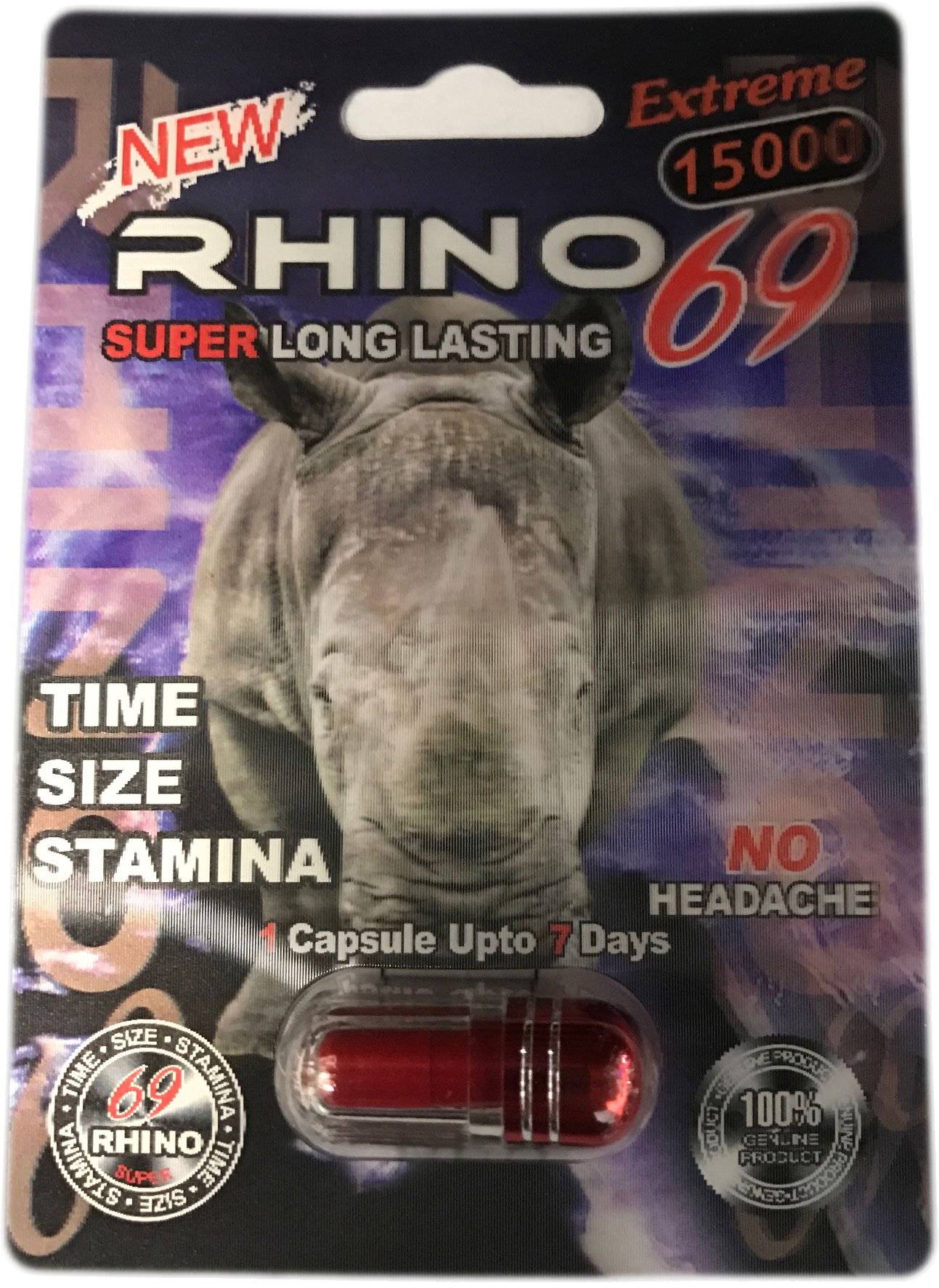 What Are The Ingredients In Rhino 7?